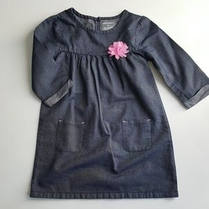 Healthtex girl's dress, size 4t, 100% cotton.